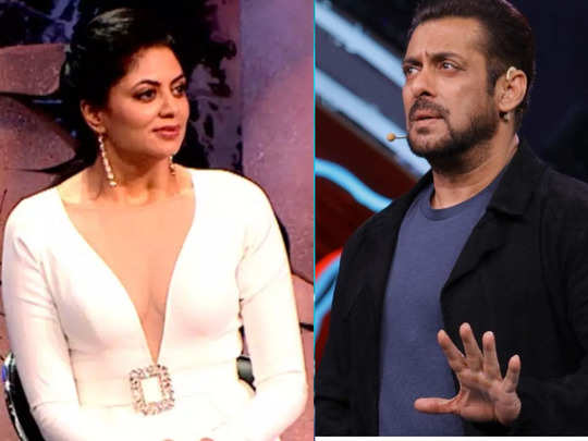 kavita kaushik questions salman khan and bigg boss 14 makers says she is being shown in wrong picture