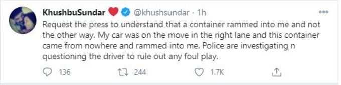 khushbu tweet