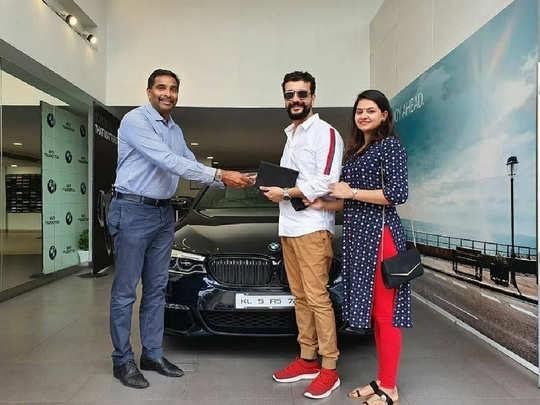 Ramesh Pisharody buys BMW 5 Series