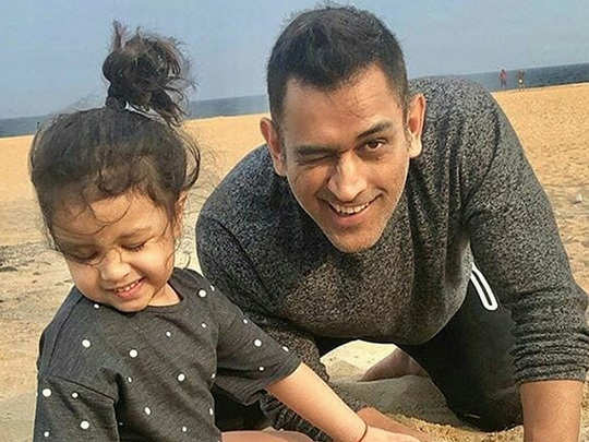 ms dhoni in dubai after ipl 13 with family reason is sakshi birthday
