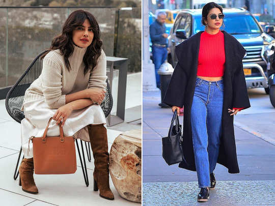 priyanka chopra winter fashion is perfect to look stylish and to keep yourself warm
