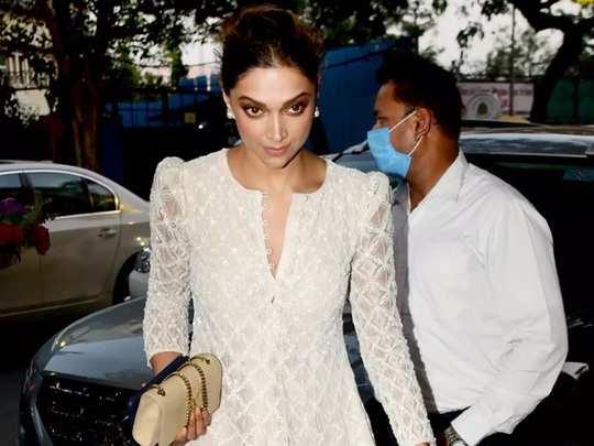 deepika padukone wore white colour sharara designed by ritika mirchandani for party in marathi