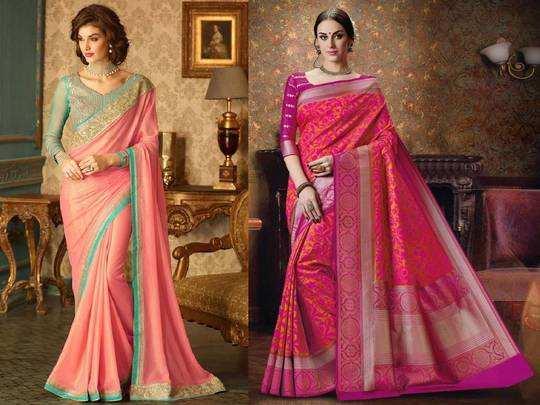 Saree For Wedding : शादियों में पहनने के लिए बेस्ट हैं ये खूबसूरत Saree, 70% तक मिल रहा डिस्काउंट