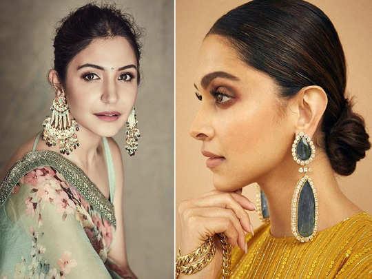 hacks to deal with the pain of wearing heavy earrings like anushka sharma and deepika padukone