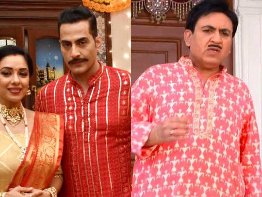top 5 tv shows trp anupamaa rules the charts again taarak mehta ka ooltah chashmah makes comeback