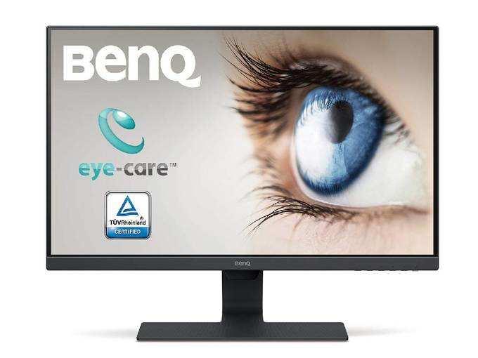BenQ 21.5-inch LED Backlit Computer Monitor, Full HD, Borderless, IPS Monitor, Brightness Intelligence Technology, Adaptive Eye Care Technology, Dual HDMI ...