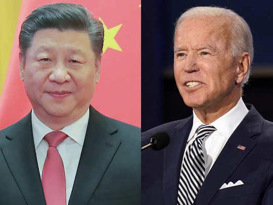 चीन को बाइडेन की नसीहत