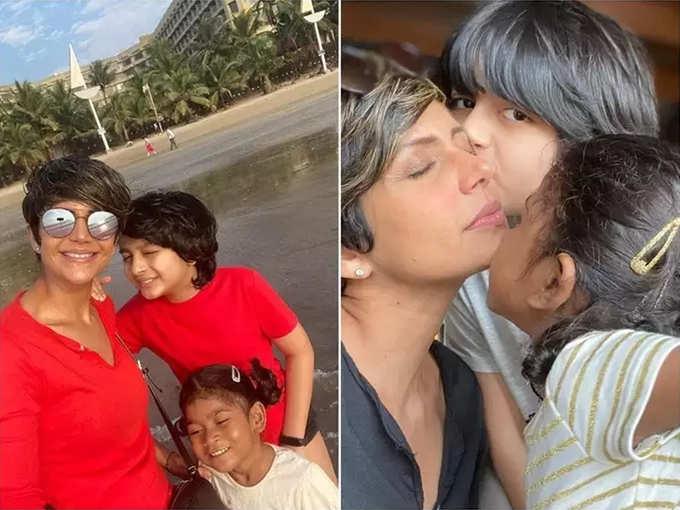 मंदिरा ने बेटी की कई खूबसूरत तस्वीरें शेयर की हैं