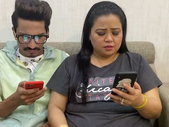 Bharti Singh and her husband Harsh