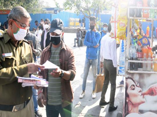delhi covid 19 latest update mask fine 2000 coronavirus new guidelines for delhi