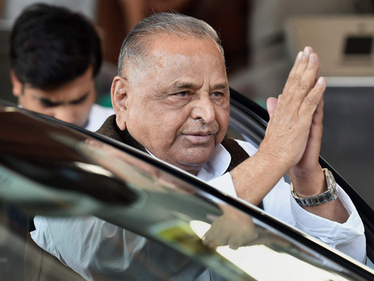 mulayam singh yadav proved to be the real wrestler from the arena to the political board