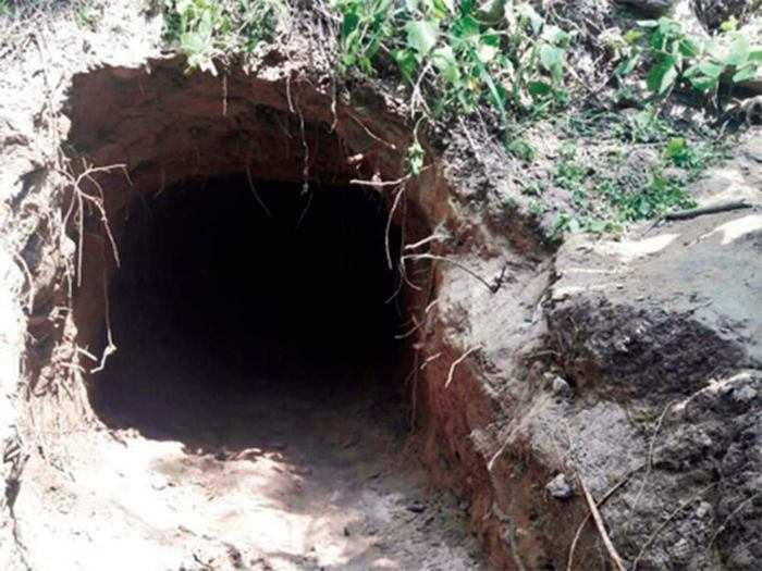how criminals used tunnels for smuggling and escaping from clutches of law