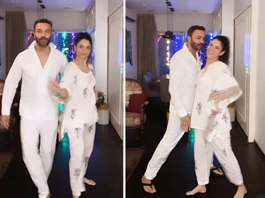 Ankita Lokhande and boyfriend Vicky Jain dance video