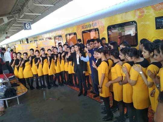 फिर थम गए पहिए देश की पहली प्राइवेट ट्रेन के (File Photo)