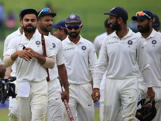 Team India Test Cricket 2020
