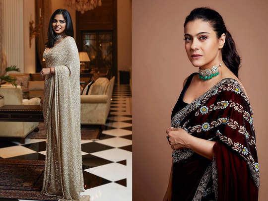 easy hacks to wear saree like anushka sharma isha ambani deepika padukone to feel less cold in winter wedding
