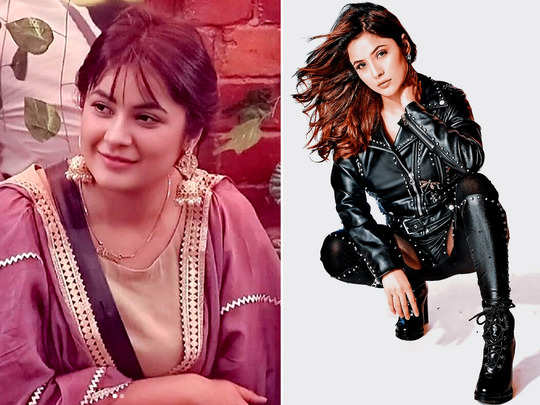 shehnaaz gill black widow like gorgeous look in leather outfit is gaining attention
