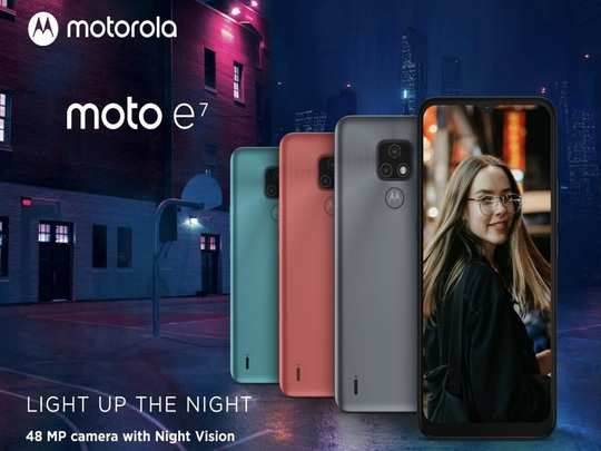 Motorola Moto E7 launched Price Specs