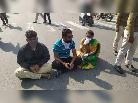 Jharkhand News: झारखंड के परिवहन मंत्री की बेटी का कटा चालान, तो सड़क पर ही दे दिया धरना