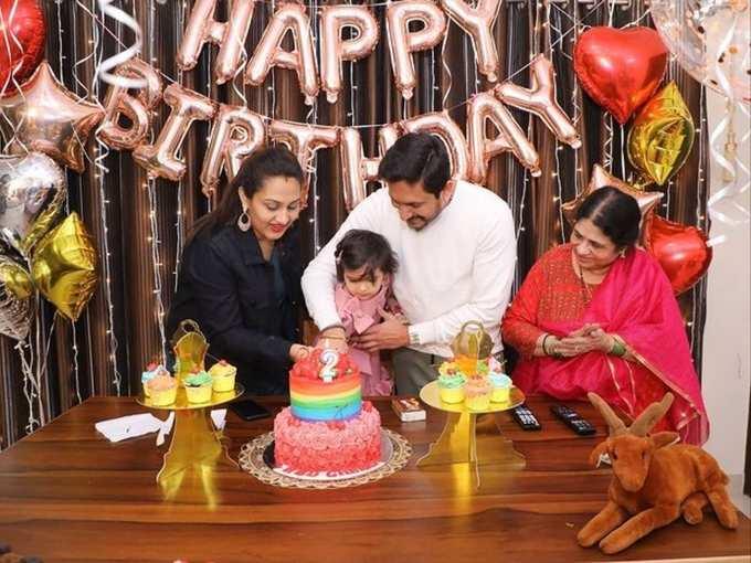 Photos: ನಟ ಅಜಯ್ ರಾವ್ ಮಗಳು ಚೆರಿಷ್ಮಾ ಹುಟ್ಟುಹಬ್ಬ ಸಂಭ್ರಮ!