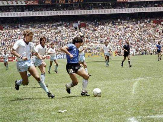 Goal Of The Century Maradona