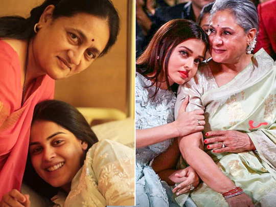 these bollywood saas-bahu jodis proved that how to make a perfect realtionship with in-laws