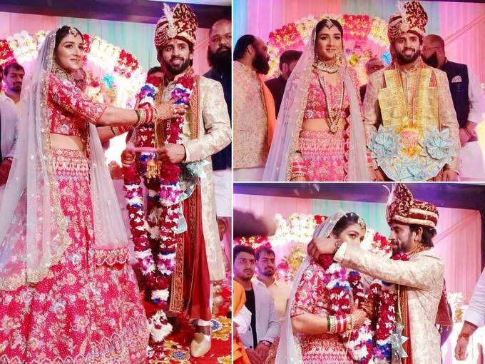 बजरंग पूनिया और संगीता फोगाट की 8 फरों के साथ हुई शादी