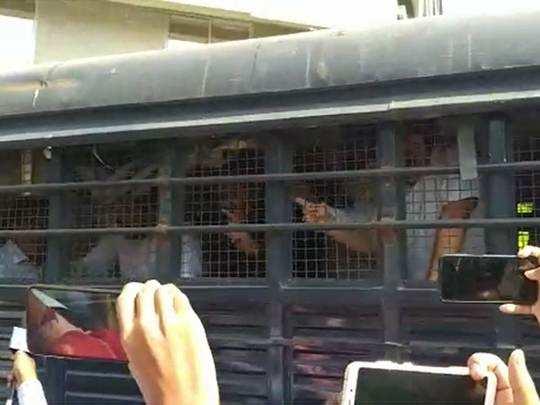 MNS-Avinash-jadhav अविनाश जाधव यांना पोलिसांनी घेतले ताब्यात