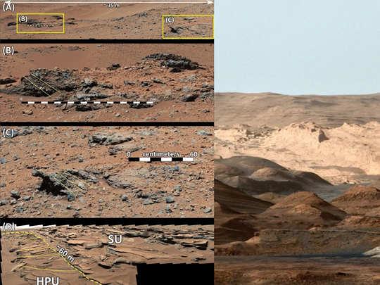 मंगल पर बाढ़ के निशान
