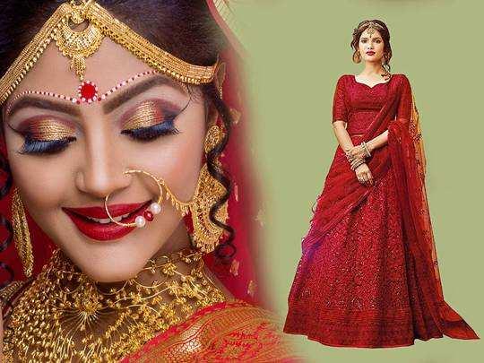 Wedding Lehenga On Amazon : शादी में लगेंगी परियों की रानी, पहनने यह Designer Lehenga Choli