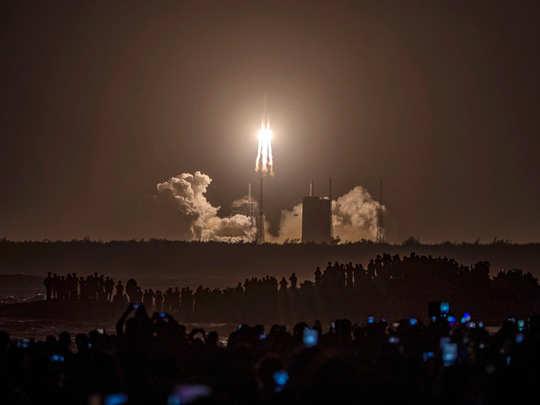 चांद के लिए चीन का मिशन