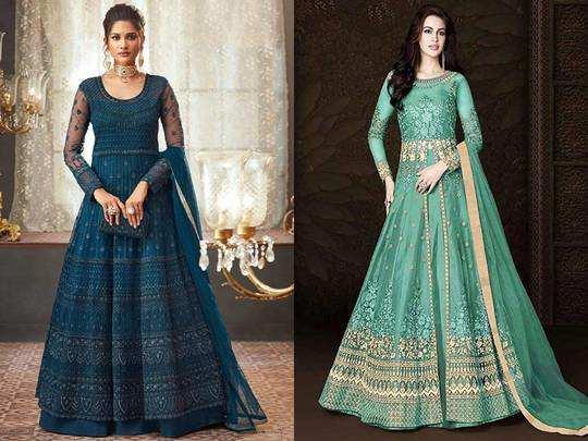 Anarkali Gowns On Amazon : लेटेस्ट फैशन के पार्टी वियर Anarkali Gowns पर Amazon दे रहा है भारी छूट