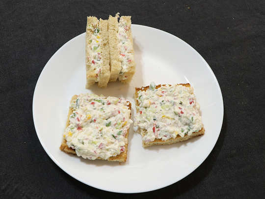 हंग कर्ड सँडविच, जाणून घ्या पौष्टिक रेसिपी