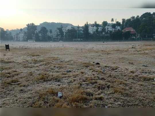 freezing snow sheet mount abu rajasthan more cold than kullu-manali