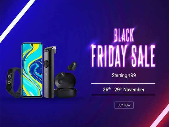 Xiaomi India Black friday sale