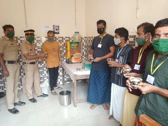 Malampuzha District Jail Coffee Vending Machine