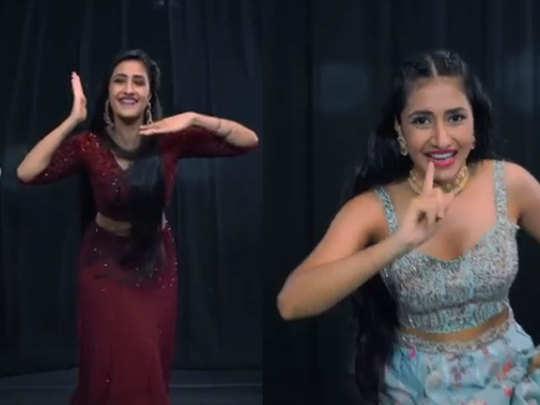 dhanashree dance video