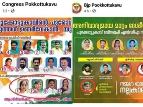 Palakkad BJP UDF Alliance