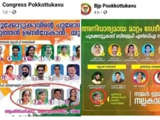 Palakkad BJP UDF Alliance
