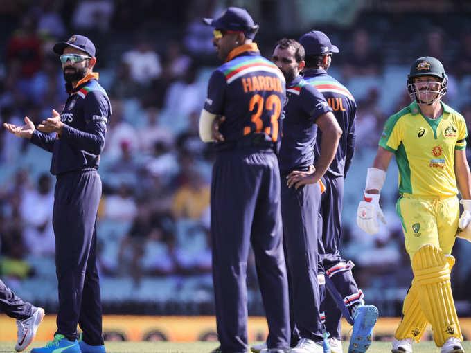 सिडनी वनडे में भारत को मिली हार