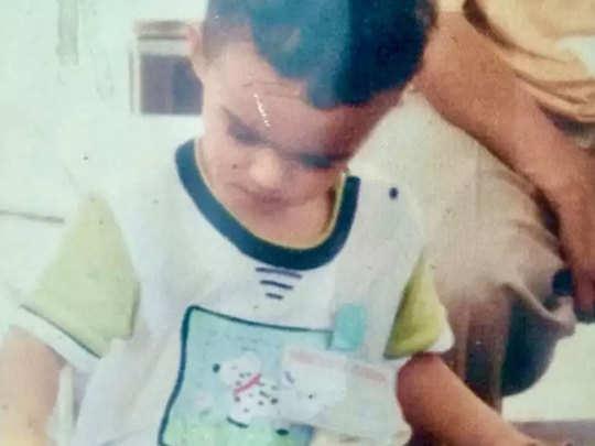 बाबिल के बचपन की तस्वीर