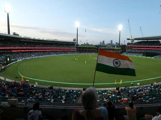 fans return to cricket stadium with australia vs india odi series at sydney