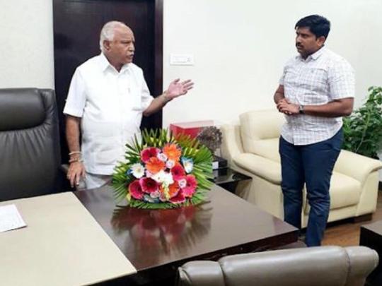 Karnataka CMs political secretary