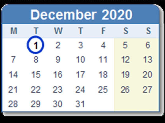 rules changing from 1 december 2020, which directly impacts you