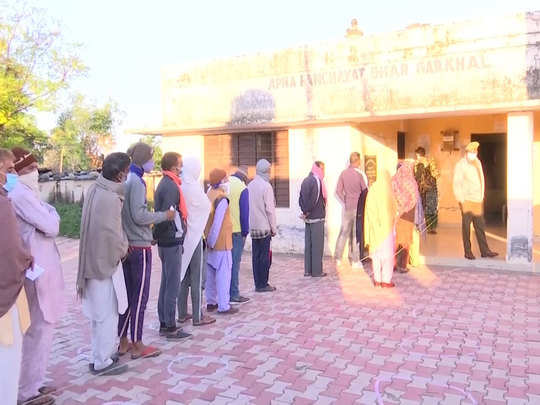 jammu and kashmir ddc elections and panchayat by elections voting continued