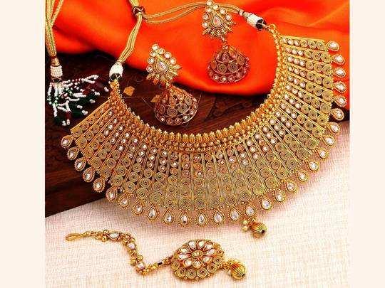 Jewellery Set On Amazon : फेस्टिव सीजन हो या शादी हर मौके पर सुंदरता में चार चांद लगाएंगे ये Jewellery Set