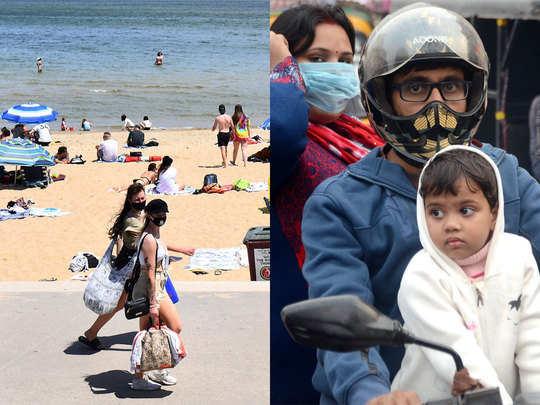 ऑस्ट्रेलिया में गर्मी तो भारत में सर्दी