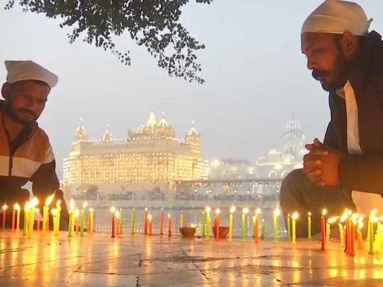 kartik purnima 2020 dev dipawali pictures from amritsar to kerala