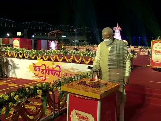 pm narendra modi in varanasi on dev deepawali 2020 live updates