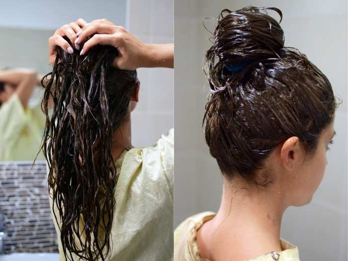 try this homemade hair pack to treat frizzy dry hair during winters